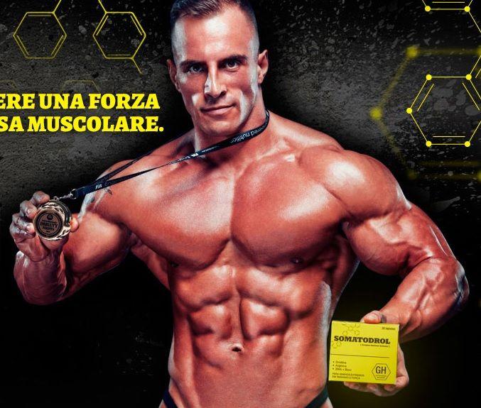 somatodrol testosterone per i muscoli