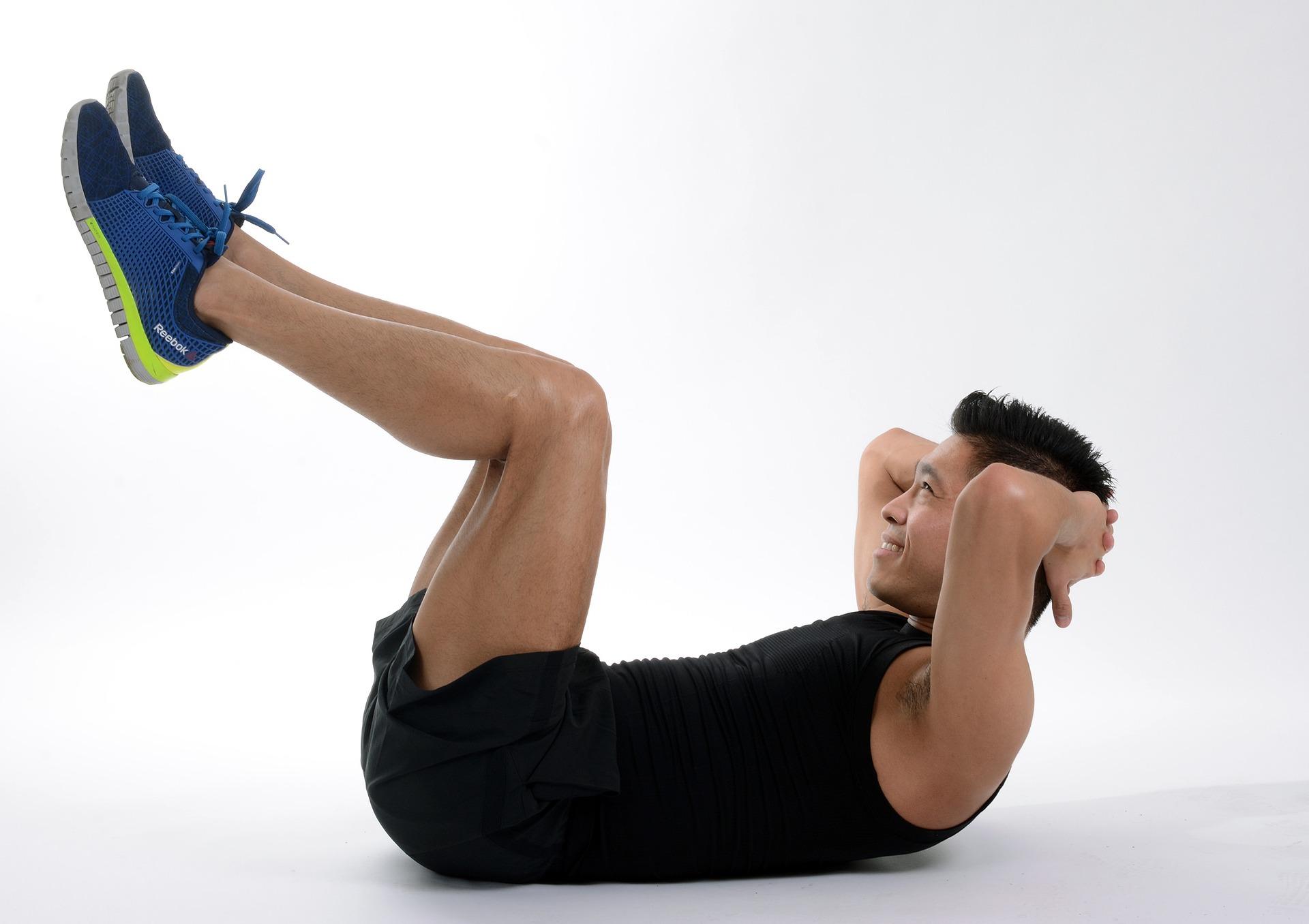 Crunch, Crunch Inverso e Jack Knife - Aumentare Massa Muscolare Velocemente