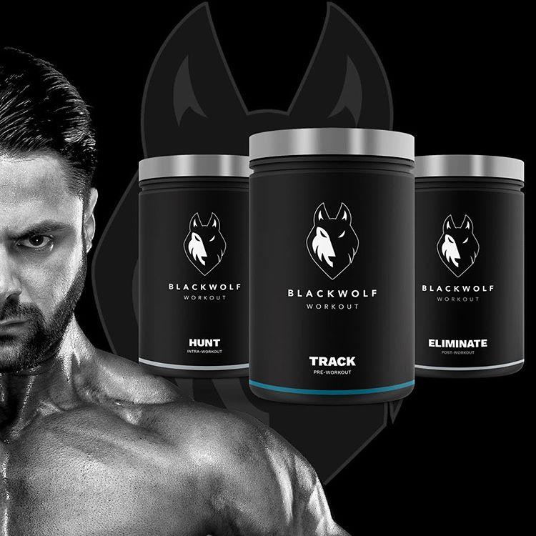 blackwolf integratori muscolari per uomo