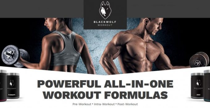 blackwolf workout uomo donna
