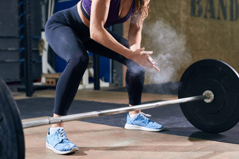 sollevamento peso massa muscolare